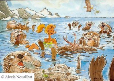 les loutres de mer