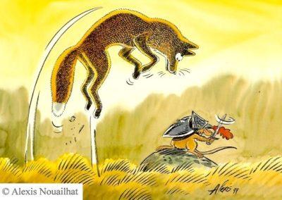 le renard et le mulot