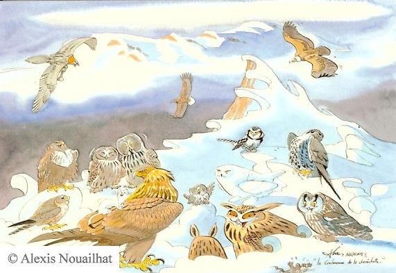 réunion des rapaces polaires