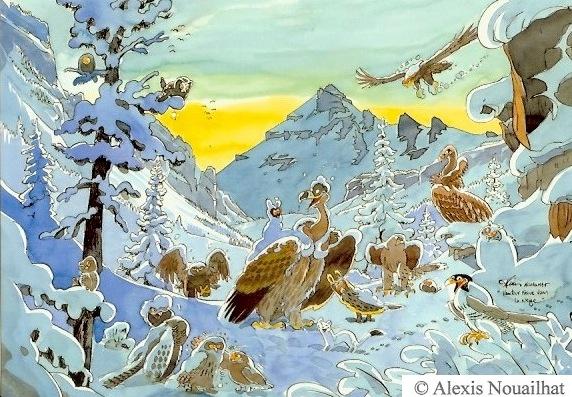 réintroduction du vautour fauve