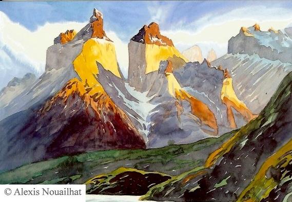 les Cuernos del Paine Patagonie