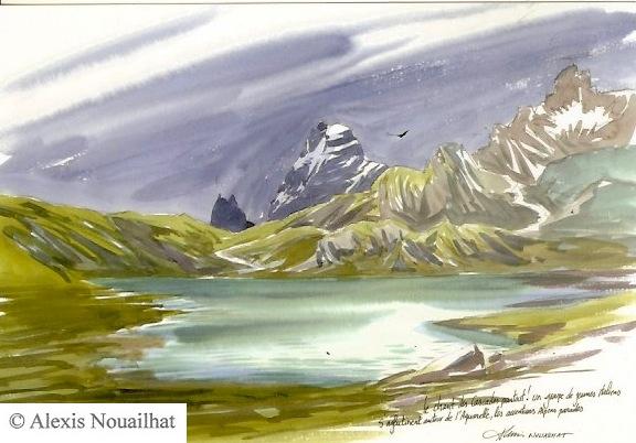 refuge du Mont Viso