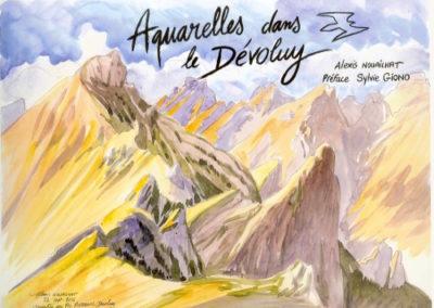 aquarelle Dévoluy