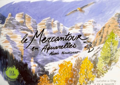 aquarelle Mercantour