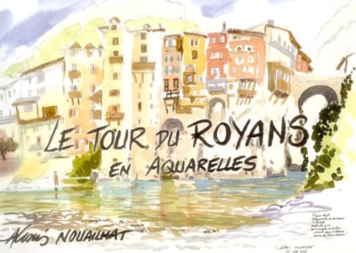 aquarelle Royans