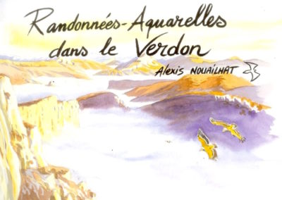 aquarelle Verdon
