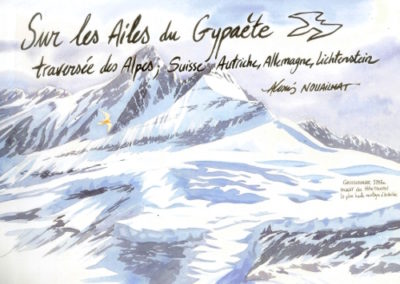 aquarelle Alpes
