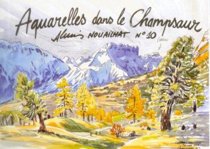 aquarelle Champsaur