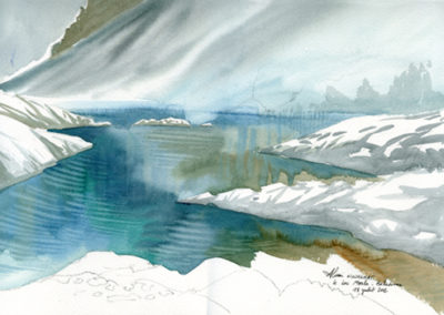 le lac Merlat