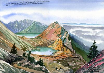 Les Lacs Robert et le Vercors