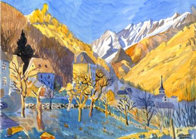 aquarelle Trièves