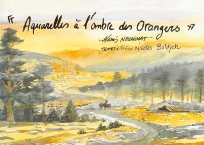 Aquarelles à l'ombre des orangers